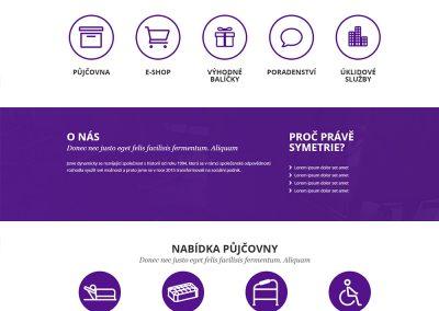 Symetrie.cz – webové stránky